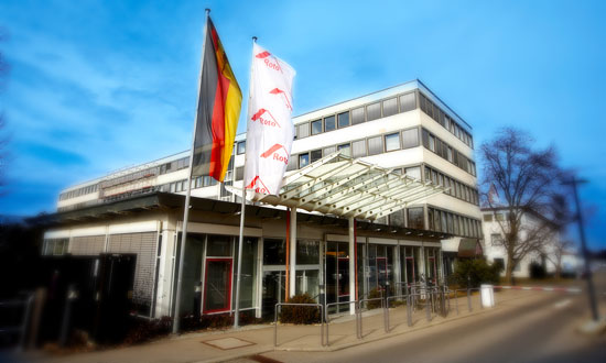 Sede do Grupo Roto na cidade de Leinfelden-Echterdingen, Alemanha.