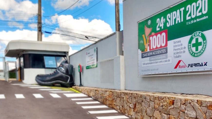 SIPAT 2020 - 1000 dias sem acidentes com afastamento